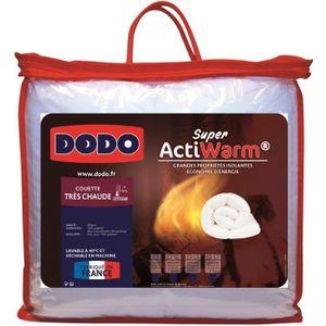 COUETTE DODO Couette très chaude SUPER ACTIWARM - 450 g /