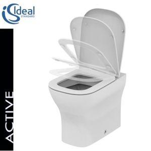 ABATTANT WC Ideal Standard - Wc a mur btw avec abattant Ideal d4e557745514