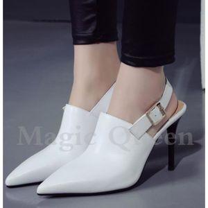 Escarpin Chaussures femme Vintage T Strap Chunky talon plus Pompes Taille 1850610 Ge1t0