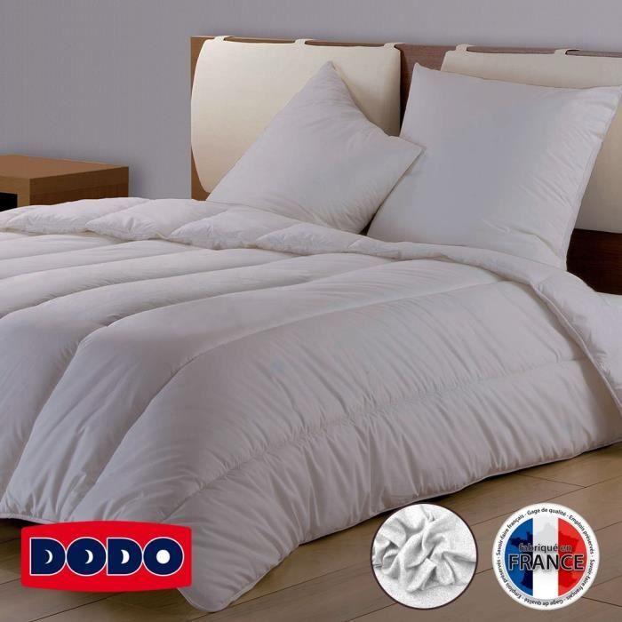 DODO Couette Confort Molletonné - 220 x 240 cm - Mauve