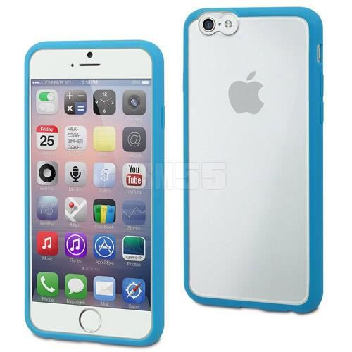 MUVIT Coque Myframe Bleue Apple Iphone 6+-6s+