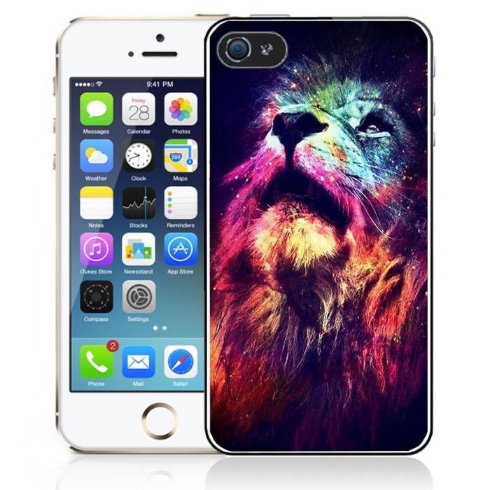 coque lion iphone 4