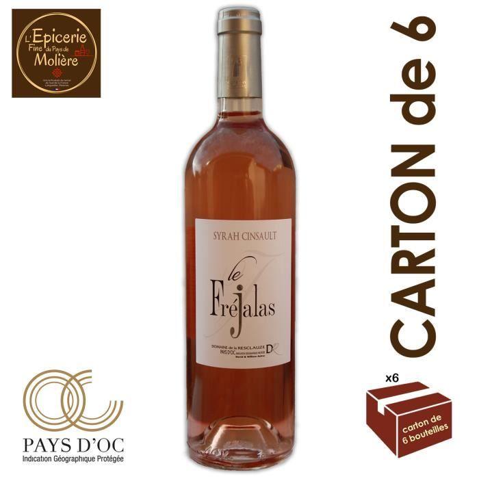 """VIN ROSÉ Vin Rosé """"Le Frejalas"""" 2018 Syrah Cinsault - IGP P"""
