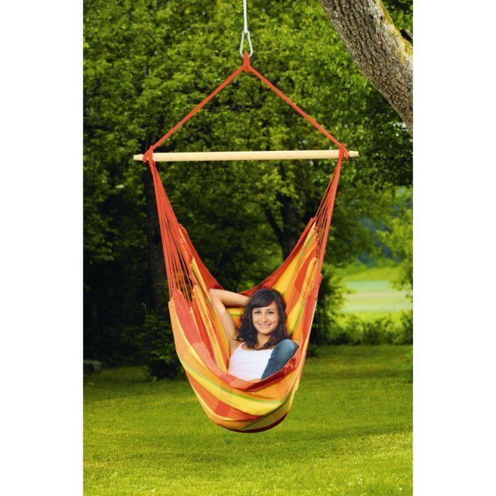 amazonas fauteuil suspendu brasil papaya achat vente hamac fauteuil brasil papaya cdiscount. Black Bedroom Furniture Sets. Home Design Ideas