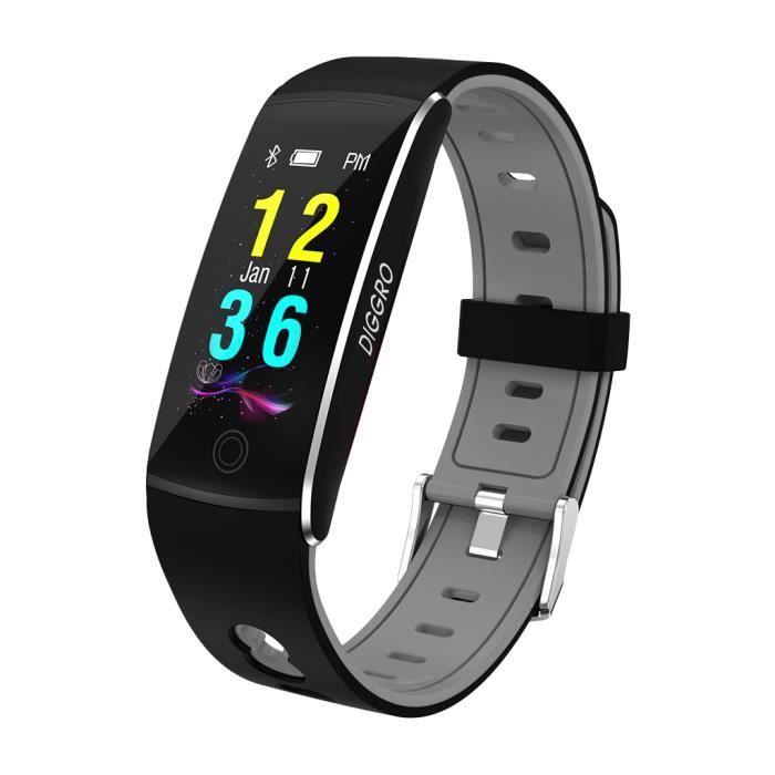DIGGRO Smart Watch Connecté Bracelet Intelligent P