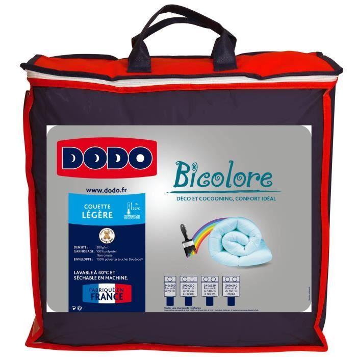 couette dodo legere 220x240 achat vente couette dodo legere 220x240 pas cher cdiscount. Black Bedroom Furniture Sets. Home Design Ideas