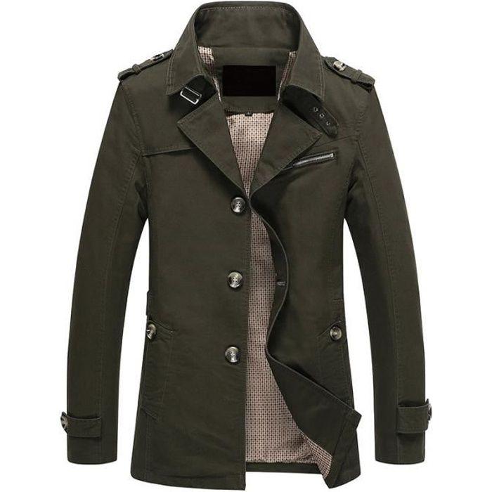 BLOUSON veste hommes parka blouson homme Manteau jacket...