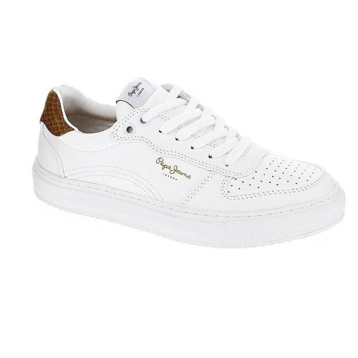 851a712d55a Pepe Jeans Chaussures Femme Baskets basses modèle intelligent  Adams25656 83476