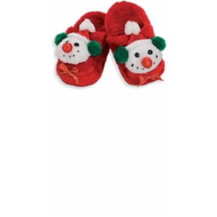 Rubie's Bonhomme de neige chaussons, Taille de l'enfant TJOSA