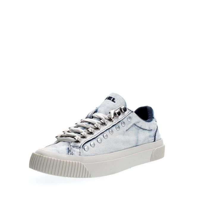 DIESEL SNEAKERS Femme DENIM LIGHT BLUE, 40