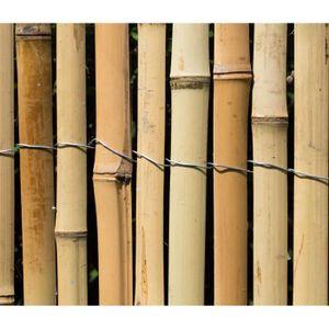 Cloture bambou - Achat / Vente pas cher -