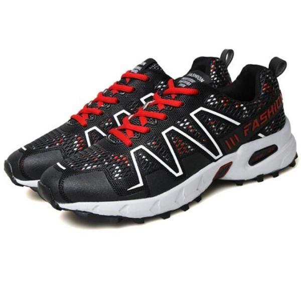 Chaussures de course à chaussures en plein air chaussures de sport respirantes anti-usure hors routecourse (38 yards)