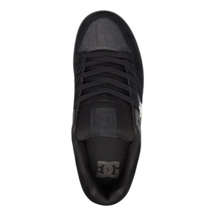 Chaussures Pure Se Canvas Black h17 - DC Shoes FsvmlIW