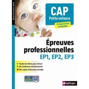 MANUEL LYCÉE PRO CAP Petite enfance, préparation complète