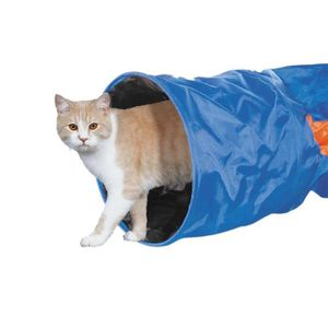 NOBBY Tunnel nylon crunch - 115x30cm - Pour chat