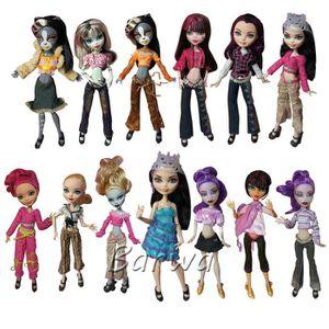Monster high girl dolls are mistaken