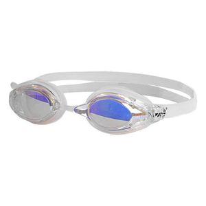 d49dc3c9bbd789 BONNET PISCINE- CAGOULE anti-buée miroir lunettes de natation blanc silico.  anti-buée miroir lunettes de natation blanc silicone de natation pour  juniors ...