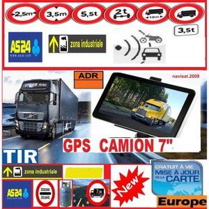PACK GPS AUTO GPS 7 Pouces POIDS LOURD CAMION Bus Camping Car 20