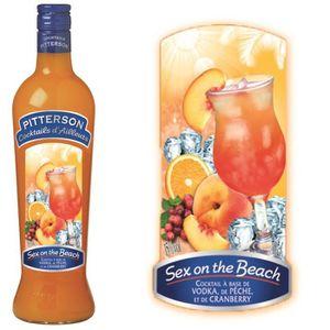 Punch-Cocktail préparé Cocktail Sex on the Beach Pitterson 15°