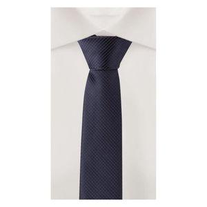 CRAVATE - NŒUD PAPILLON Cravate de Fabio Farini rayé en bleu-noir