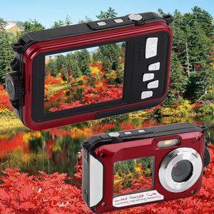 APPAREIL PHOTO COMPACT Appareil-photo imperméable 16x 5MP MAX 1080P Dual