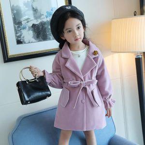 cfbcb53689c4 Mode Parkas Fille De Vêtements Pour Manteau Bébé Enfants Rose ...