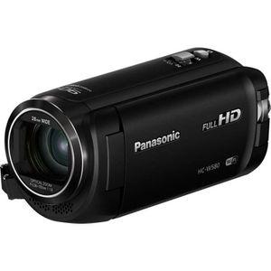 CAMÉSCOPE NUMÉRIQUE Camescope PANASONIC HC-W580 noir Pack SD