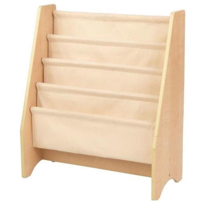 KIDKRAFT - Bibliothèque en bois à compartiments - En bois