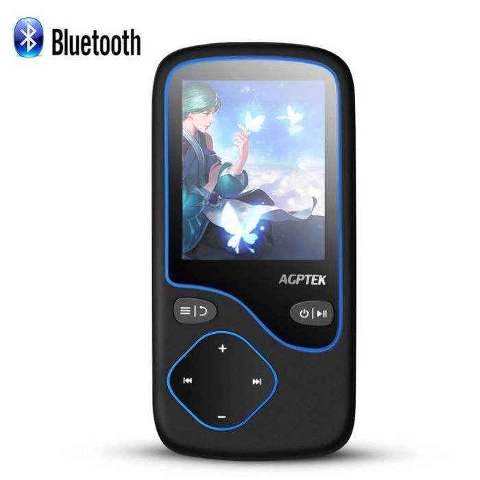 LECTEUR MP3 AGPTEK 8Go MP3 Bluetooth 4.0 HiFi Lecteur Musique