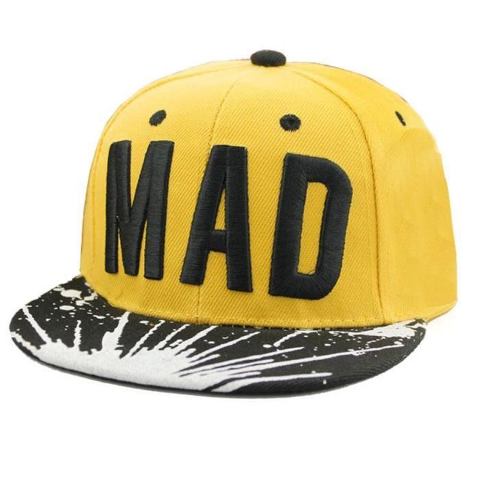 d7a16078cb7e Chapeau tendance Snapback casquette enfant garçons filles lettres baseball  casquettes plat hip hop Cap Ye YHL70617182YE