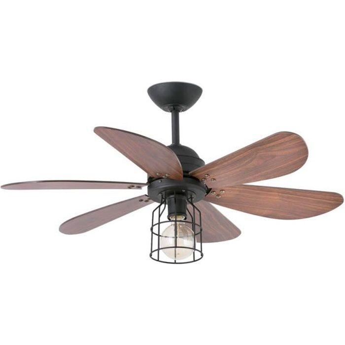 VENTILATEUR DE PLAFOND Ventilateur de plafond 91 cm avec lampe intégrée -