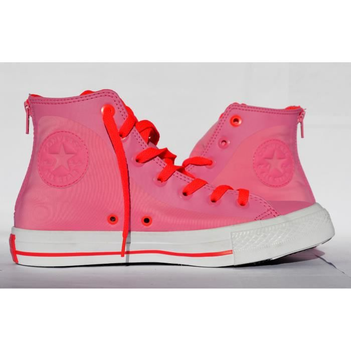 CONVERSE ALL STAR CHUCK TAYLOR LIMITED ZIP CANDY PINK - ROSE