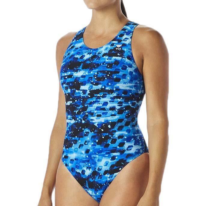 02faa43f6200d Maillots de bain femme Maillots de bain Tyr Vega Max Fit Bleu Bleu ...