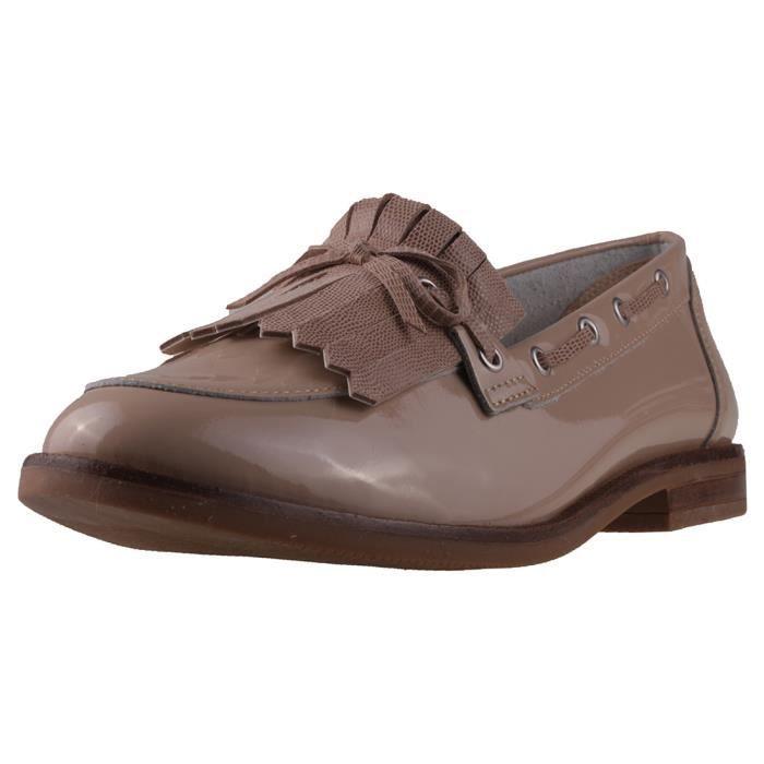 With Loafer Caprice 6 Tassel Patent Beige Mocassins Femmes UK BwnH61