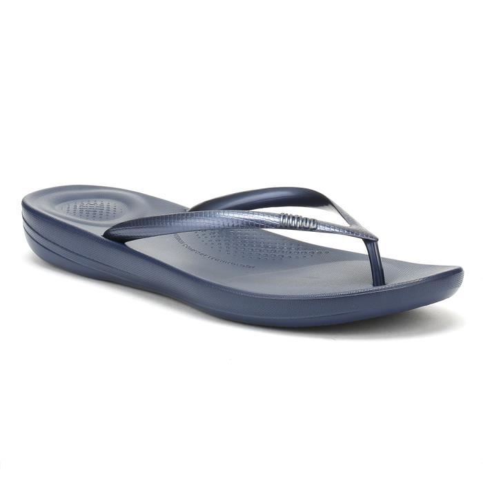 Navy 3 Fitflop Iqushion Tongs Midnight Uk Achat Femme Vente eodCxBWr
