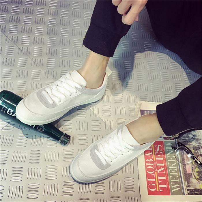 Extravagant bleu Baskets Blanc Chaussures Nouvelle Sneakers Résistantes Loisirs À Arrivee L'usure Taille Durable Homme Personnalité Grande WZqnHrZY