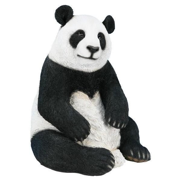 panda 47 cm en r sine 200322 achat vente statue statuette panda 47 cm en r sine. Black Bedroom Furniture Sets. Home Design Ideas