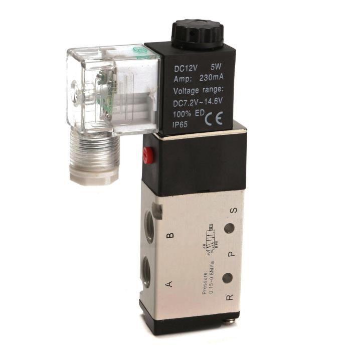 CLIMATISEUR FIXE DC 12V Pneumatique Electrique Solénoïde Electrovan