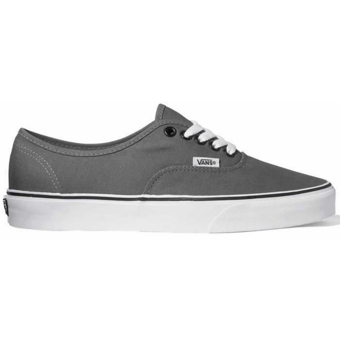 Chaussure Basse VANS Authentic Pewter Black Homme 4XJYsFrO