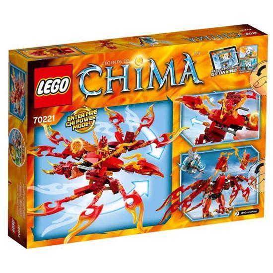 Feu Lego® De Legends Phoenix Chima Ultime 70221 Of Rj3L54A