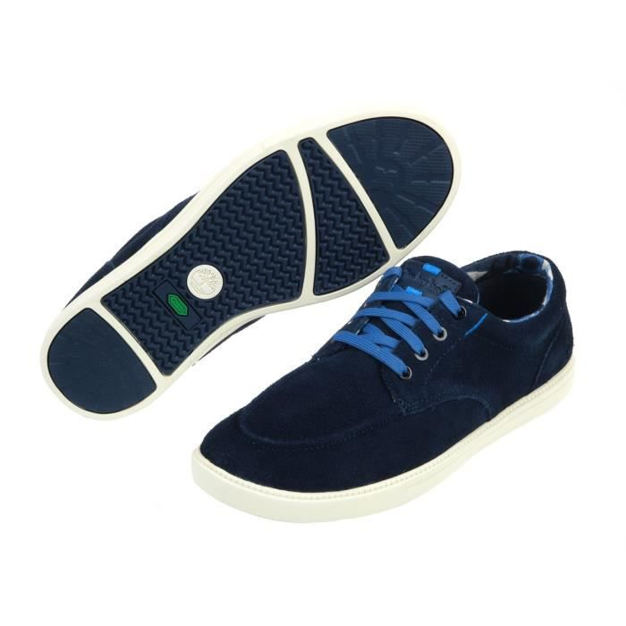 Chaussures basses cuir ou similiFulk navy suede