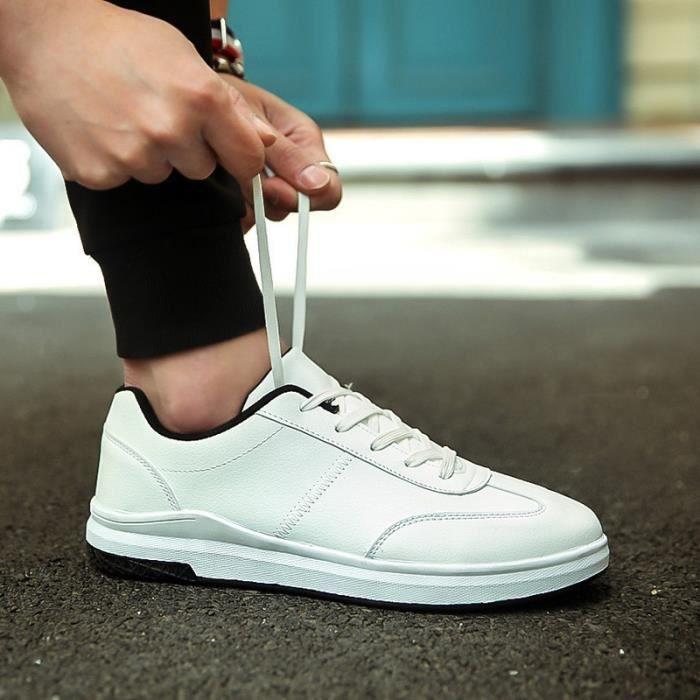 Basket Blanc 10.5 Antidérapants et respirant Lace Up Casual Étudiant Mode Blanc ljKnyh0