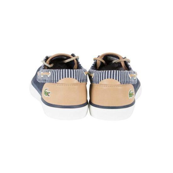 4c8fdc2ee4 Chaussure bateau Lacoste Jouer Deck 117 2 CAM - 733CAM1080003 Bleu Bleu -  Achat / Vente chaussures bateau - Cdiscount