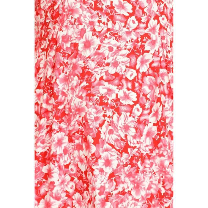 Womens Color Fuel Rayon Pink Dress ZK791 Taille-40