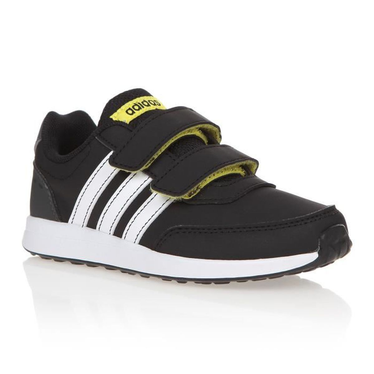 best sneakers fb53e 865a1 ADIDAS Baskets Vs Switch 2 Cmf C - Enfant garçon - Noir et blanc