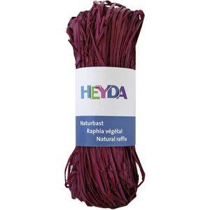 HEYDA Raphia végétal Bordeaux 50g