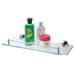 Tablette verre salle de bain - Achat / Vente pas cher