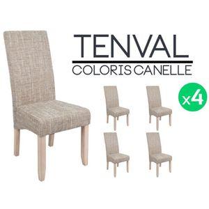 Chaises beige achat vente chaises beige pas cher for Chaise beige pas cher