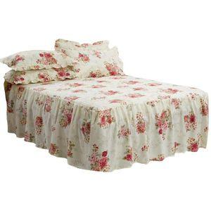 couvre lit avec Couvre lit avec volant   Achat / Vente pas cher couvre lit avec