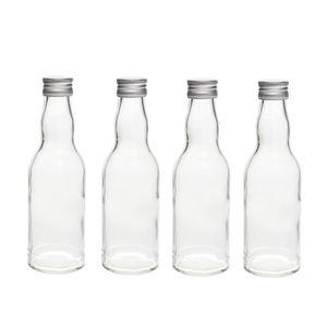 Verre à vin CASA VETRO 10 x 200 ml bouteilles en verre avec bo